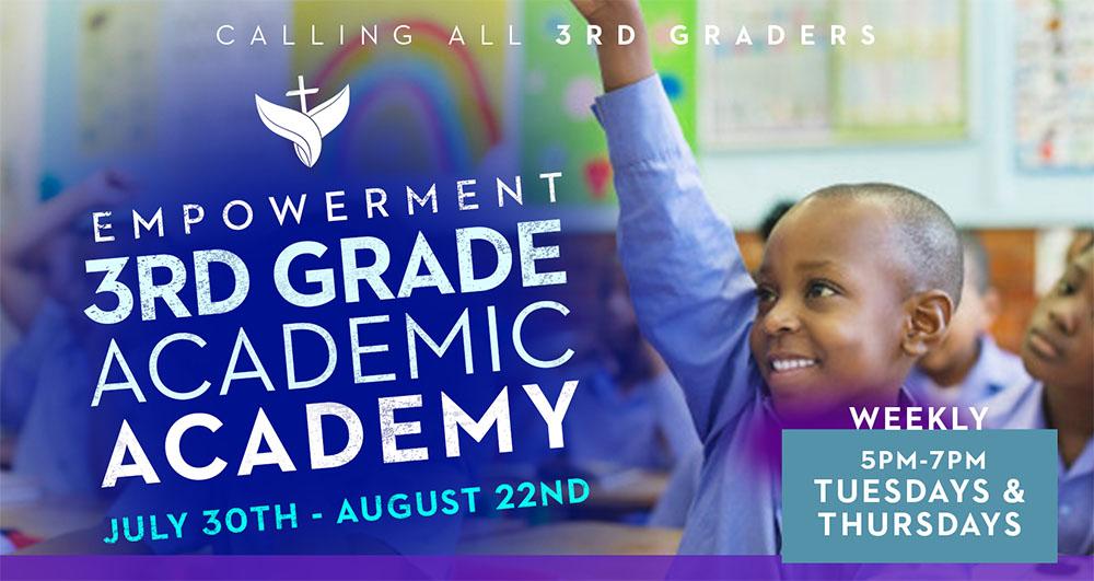 3rd Grade Academic Academy
