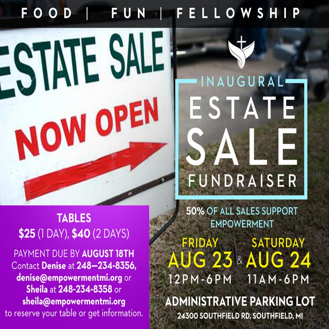 Inaugural Estate Sale