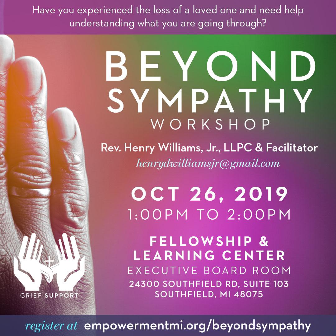 Beyond Sympathy Workshop